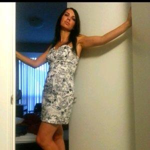 Ixia strapless dress